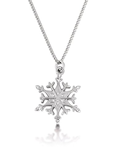 Disney Couture Frozen Weiß vergoldet Schneeflocke Halskette - Couture Schmuck Disney