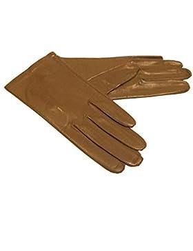 Roeckl Damen Handschuhe Leder Sommer Seidenfutter 020-000-000072 taupe Größe 7