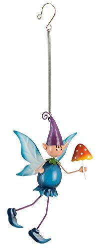 World of Make Believe Fountasia Pixie Pip Springer Metall Gartenfigur