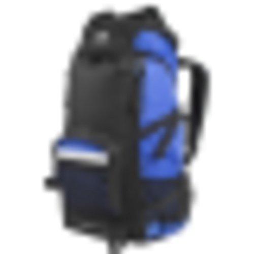Escursionismo zaino/zaino esterno/Borsa da passeggio-rosso 50L cielo blu