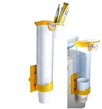 Manuel type Distributeur de tasse de papier magnétique de fixation porte-gobelet 6–198,4 gram