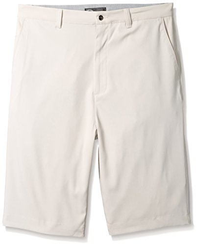 Callaway Herren Big & Tall opti-stretch Classic Tech Shorts, herren, Silver Lining, 54 Big (Big Poloshirt Tall Herren)