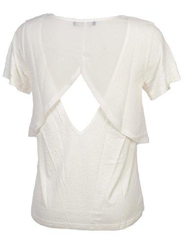 Teddy Smith -  T-shirt - Donna Ecru
