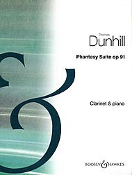 PHANTASY SUITE  OP  91 FOR CLARINET AND PIANO