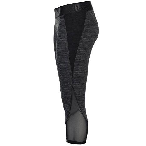 Everlast Femmes Performance Leggings Collant capris de sport Charcoal Marl