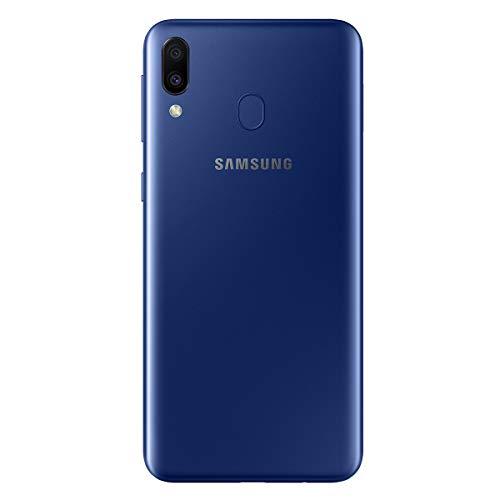 "Samsung Galaxy M20 Smartphone,  FHD+ Infinity V Display 6.3"",  4GB RAM,  64GB ROM,  Azul [Versión Española]"