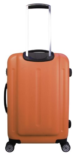 ... 50% SALE ... PREMIUM DESIGNER Hartschalen Koffer - Heys Core Quad Pink - Trolley mit 4 Rollen Gross Orange