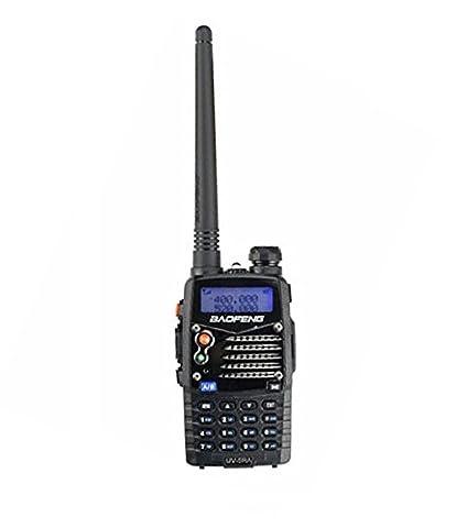 Mengshen® Baofeng UV-5RA Radio portable 5RA Talkie Walkie Transceiver 5W VHF + UHF DTMF VOX FM Ham Radio Original Black Noir