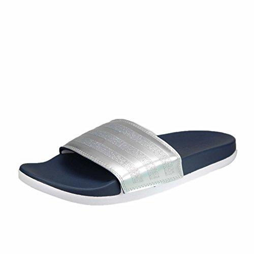 sale retailer fe0bc 5c0b4 adidas Womens Adilette CF+ Explorer Beach and Pool Shoes, Blue (Collegiate  NavyCollegiate NavyFootwear White), 8 UK - Buy Online in Oman.