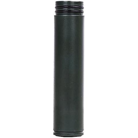 MoKo Cartucho del Filtro de Agua - Reemplazo Water Filter Cartridge / 0.01 Micrón Filtración Avanzada de 3 Etapas Triple Fibra Hueca / UF Membrana Carbón Antibacteriano, Ejercito Verde