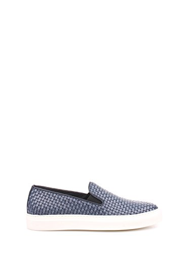 Soldini 19774 Slip On Uomo Vitello Blue Blue 45