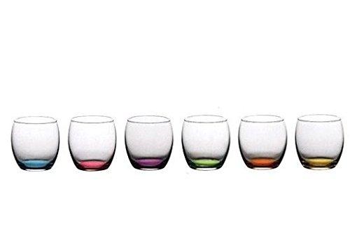 Pasabahce set 6 bicchieri acqua luna