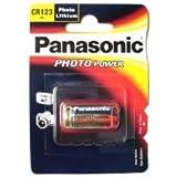 Panasonic Piles Lithium CR123A (Photo Non Rechargeable) : 1