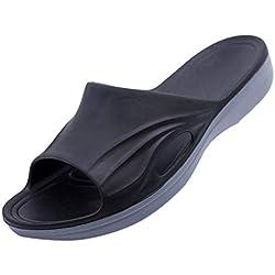 Fannyfuny_Zapatos Hombres Mujeres Unisexo Zuecos Chanclas para Hombre Zapatos de Playa Sandalias Verano Zapatillas Unisex Zapatos de Playa y Piscina 39-48