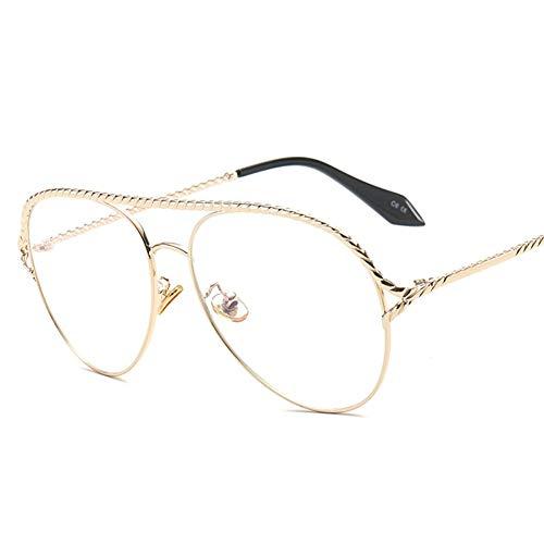 SUGLAUSES Sonnenbrillen Pop Age Pilot Sonnenbrille Frauen Promi Metall Pilot Sonnenbrille