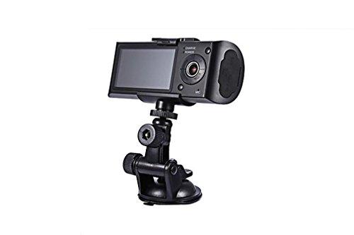 Nola Sang Full HD Auto DVR 2,7 Zoll LCD Full HD Bildschirm vorne & hinten Dual Kamera Auto Fahrzeugkamera Schlag Cam GPS DVR Recorder
