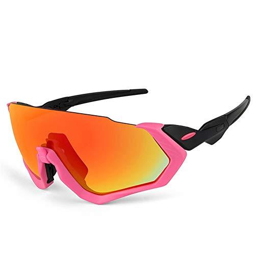 erhuo Fahrradbrillen, Sport, Reiten, polarisiert, pink