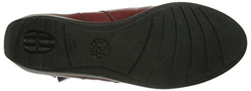 Mephisto-Chaussure Bottine-SEDDY Noir cuir 7900-Femme Rouge