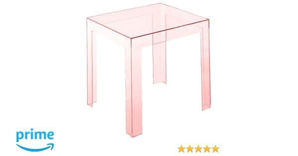 Kartell jolly side table tavolino confezione da 1 pezzo rosa