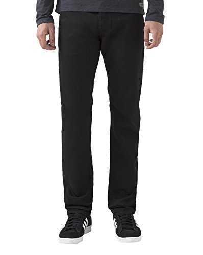 carhartt-wip-jean-homme-jeans-tapered-fit-klondike-chicago-noir-lave-pour-homme-31-34