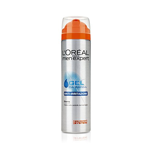 L'Oréal Paris Men Expert - Gel da barba anti-irritazioni - 200 ml