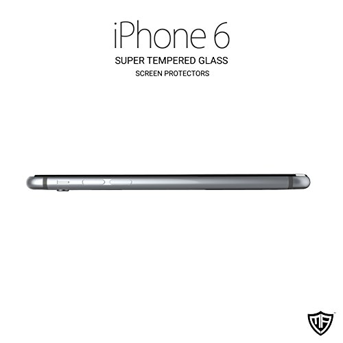 MoArmouz® – Super Strong Tempered Glass Screen Protector Best Recommended 3D Arc Edge Full Cover for iPhone 6 with Easy Applicator – Tempered Glass Screen Protector, Iphone Glass Screen Protector/ Accessories / Screen Protectors / Mobiles & Tablets