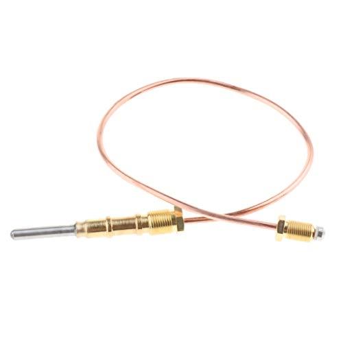 Homyl 1-teiliges Thermoelement-Ersatzset 400mm länge Kompatibel zu Öfen, Kaminen -