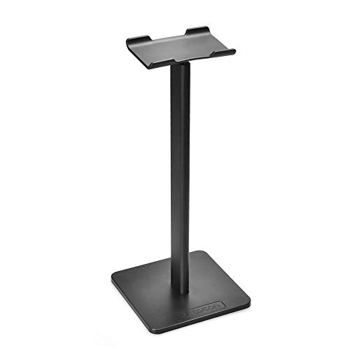 aceyoon Supporto Cuffie Gaming 21cm TPU Head Universale Stand Cuffie Gaming On Desk Headset Stand Holder Bluetooth & Sport Sony, Bose, Philips Headphone Nero