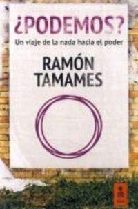 ¿Podemos? (Kailas No Ficción) de Ramón Tamames Gómez (5 may 2015) Tapa blanda