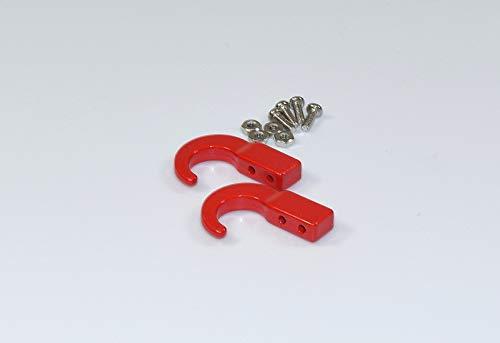 Absima 2320048 2320048 Ganchos de Acero con Tornillos (2 Unidades) - Herramienta para modelismo / Pieza de Tuning en Escala 1:10, Multicolor
