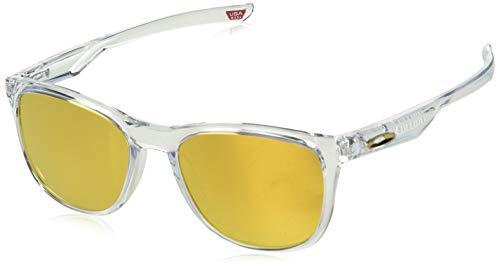Oakley 0OO9340 Gafas de Sol, Polished Clear, 52 para Hombre