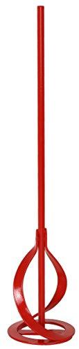Connex COX781257 Universal-Rührquirl, Metall, 6-kant-Schaft, Schaft Ø 10 mm, Länge 400 mm, Rührkorb Ø 80 mm, Rührgutmenge 5-15 kg