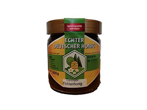 Echter Deutscher Honig, 500gr, Tannenhonig/Fichtenhonig aus dem Schwarzwald