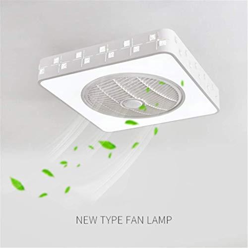 *JINWELL Fan Deckenventilator mit beleuchtung und fernbedienung leise deckenventilator LED Deckenleuchte Schlafzimmer Lampe Büro Kinderzimmer beleuchtung*