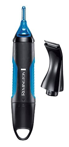 Remington NE3750 Travel Portable Battery Operated Nano Lithium Nose, Ear & Eyebrows Trimmer