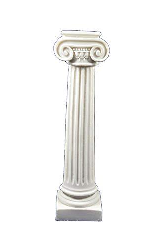 Estia Creations Greco Antico ionico per Colonna Artefatto