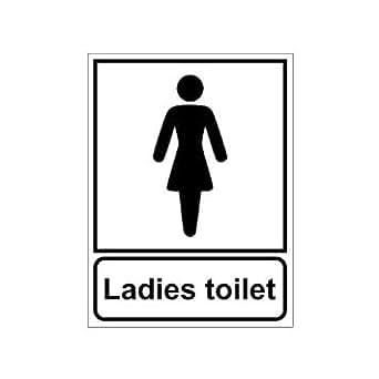 Clickforsign sign03 wash room ladies toilet sign board for Ladies bathroom sign