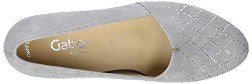 Gabor Damen Comfort Basic Pumps Grau (Light Grey (Motiv))