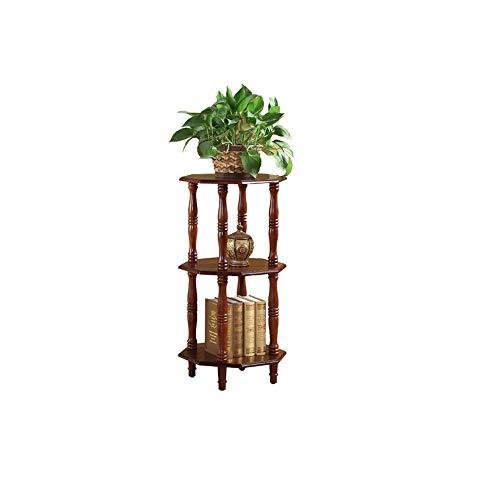 LYQZ Massivholz Blumenständer Amerikanischen Stil Wohnzimmer Blumenständer Balkon Einfache Bonsai Rahmen Europäischen mehrschichtige Blumenständer Blumenrahmen Dekoration (Size : L) Agile Stereo