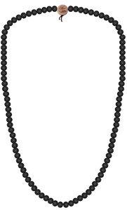 Wood Fellas Unisex Deluxe Holz-Perlenkette Black 9mm