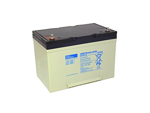 Akku Batterie Cell Power CPX60-12 AGM Bleiakku 12V 60Ah wie 52Ah 5HR zyklenfest -