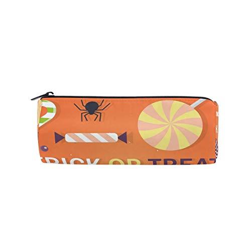 Bonipe Happy Halloween Stifteetui für Stifte oder Leckereien mit Reißverschluss