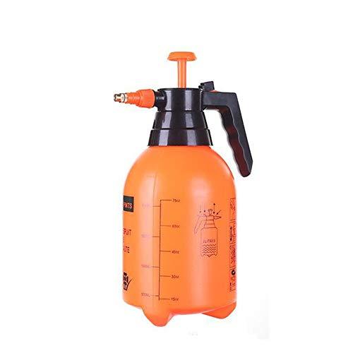 LSX 2l Handgießkanne, Multifunktionsgießgerät, Gießkanne, Pneumatische Gartendusche, Gießkanne, Gartensprühtopf - Orange - Auto Waschen Gallone