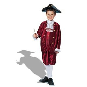 Kostüm Franklin Ben - Goddessey Llc FR48046-M Ben Franklin Kinderkost-m Gr--e L