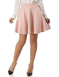 687d2d96944 ... Vêtements   Femme   Jupes   La Modeuse. La Modeuse - Jupe Patineuse en  suédine