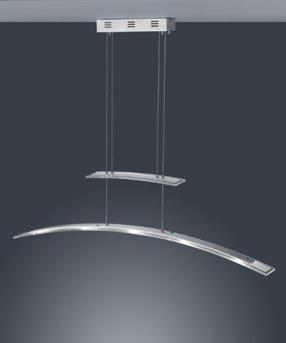 Trio-Leuchten-LED-JoJo-Pendelleuchte-in-ChromAluminium-Glas-wei-satiniertklar-inklusive-5x-5W-LED-Breite-113-cm-Hhe-120-cm-325910506