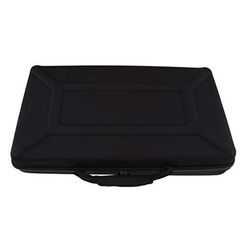 IPOTCH Stoßfest Schutzhülle Eva-Koffer case mit Reißverschluss für Traktor Kontrol Mk3 DJ Controller, schwarz