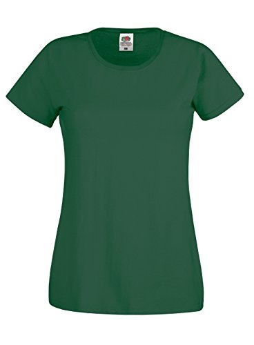 Fruit of the Loom Ladyfit Original-T-Shirt - 21 Farben/XS-2XL Sky Blue