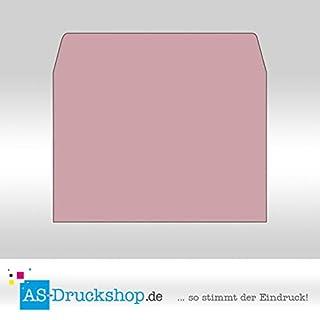 Farbiger Briefumschlag/Kurvert - Altrosa/DIN C6 / 100 Stück