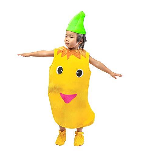 Kinder Obst Gemüse Kostüme Kinder Mango Party Kleidung Kostüme für Halloween Cosplay Weihnachtsferien Kleinkind Jungen Mädchen